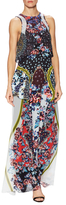 Mary Katrantzou Donna Silk Printed Maxi Dress
