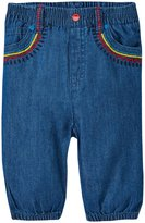 Stella McCartney Pipkin Denim Pants (Baby) - Blue-12 Months