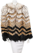 Theory Cassius Fur Jcket w/ Tags