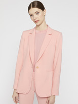 Alice + Olivia BRISTOL NOTCH COLLAR FITTED BLAZER