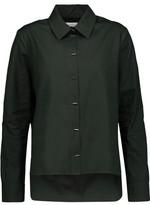 Carven Asymmetric Cotton-Poplin Shirt