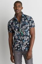 American Eagle Outfitters AE Camp Collar Oxford Shirt