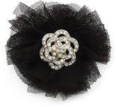 Avalaya Crystal Net Floral Brooch