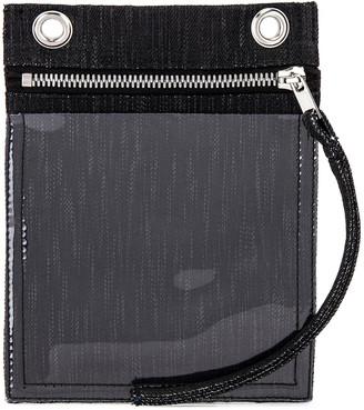 Rick Owens Security Pocket Bag in Black   FWRD