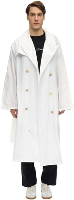 Maison Margiela Oversize Recycled Nylon Trench Coat