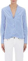 Rag & Bone Women's Ryder Shirt-WHITE, BLUE, LIGHT BLUE