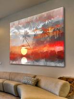 Parvez Taj Reflective Sun (Canvas)