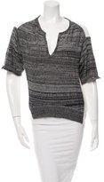 3.1 Phillip Lim Two-Tone V-Neck Top
