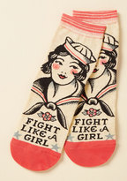 ModCloth Mighty Words Socks