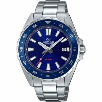 Casio Men's Analogue Quartz Watch with Stainless Steel Strap EFV-130D-2AVUEF