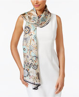 Echo Butterfly Silk Oblong Scarf
