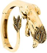 Roberto Cavalli lion bangle bracelet