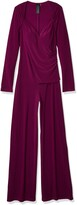 Thumbnail for your product : Norma Kamali Women's Long Sleeve Sweetheart Side Drape Jumpsuit