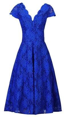 Dorothy Perkins Womens *Jolie Moi Royal Blue Lace Prom Dress, Blue