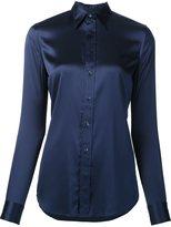 Ralph Lauren classic shirt - women - Silk/Spandex/Elastane - 10