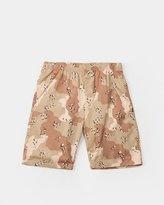 Stussy Camo Beach Shorts (Khaki)