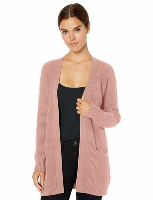 Daily Ritual Wool Blend Open Cardigan Sweater Pullover