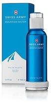 Swiss Army Mountain Water by Swiss Army, 3.4 Ounce 100ml EDT Spray