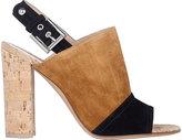 Gianvito Rossi Women's Halter-Strap Sandals-BROWN