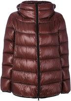 Herno zip up puffer jacket