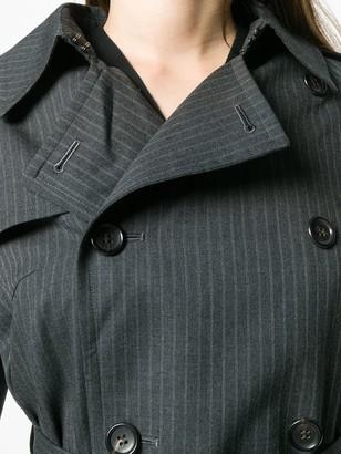 Junya Watanabe Pinstripe Trench Coat