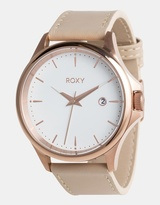 Roxy Womens The Messenger 40mm Leather Watch