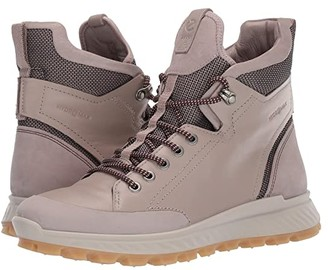 Ecco Sport Sport Exostrike Outdoor Ankle Boot (Grey Rose/Grey Rose) Women's Hiking Boots