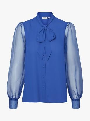 Vero Moda AWARE BY Maria Tie Neck Shirt