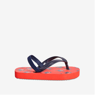 Joe Fresh Toddler Boys' Flip Flops, Red (Size M)