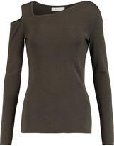 Bailey 44 Cutout ribbed wool sweater