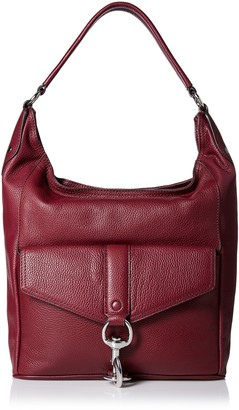 Rebecca Minkoff Women's Hudson Moto Hobo Shoulder Handbag