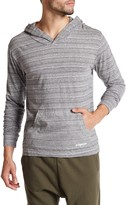 Bottoms Out Long Sleeve Heathered Knit Hoodie