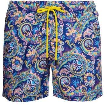 Etro Paisley Print Swim Shorts - Mens - Multi