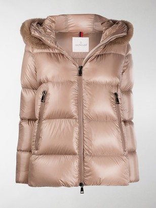 Moncler Serifur padded hooded jacket