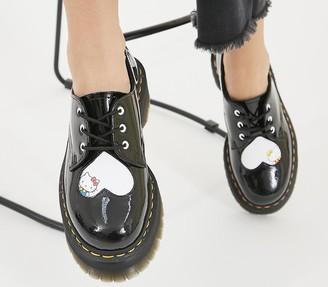 Dr. Martens Hello Kitty 1461 Quad Shoes Black