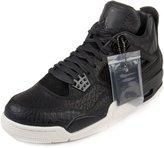 """Nike Mens Air Jordan 4 Retro Premium """"Pinnacle"""" Black/Sail Leather Size 9"""