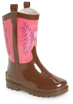 Western Chief Toddler Girl's Cowgirl Waterproof Rain Boot