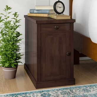 Three Posts Paulis End Table With Storage