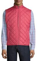 Peter Millar Crown Rutherford Diamond Quilted Vest