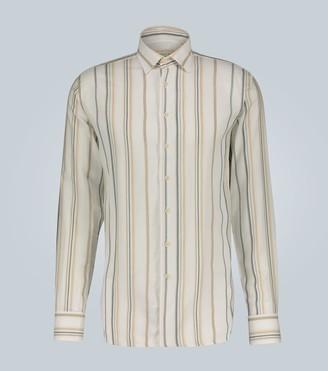 Etro Cotton-bamboo blend shirt