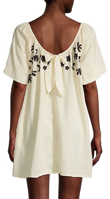 Thumbnail for your product : Free People Fiona Embroidered Mini Dress