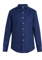 Polo Ralph Lauren Spread-collar linen shirt