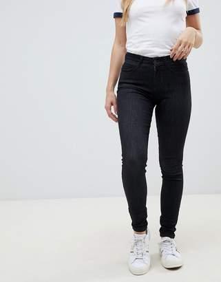 Wrangler high rise skinny jeans-Black