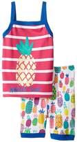 Hatley Tropical Pineapple Tank Pajama Set (Toddler/Little Kids/Big Kids)