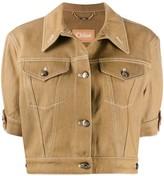 Chloé cropped stitched jacket