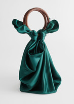 And other stories Satin Scarf O-Ring Bag