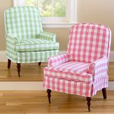 Gingham Reese Chair Slipcover