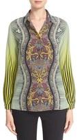 Etro Print Silk Blouse