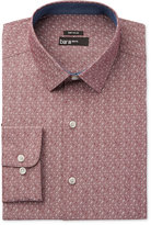 Bar III Men's Wear Me Out Slim-Fit Wine Floral-Print Dress Shirt, Only at Macy's