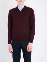 Corneliani Fine-knit wool jumper